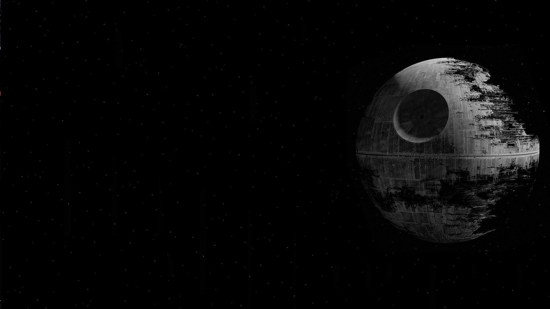 Star Wars Wallpaper 1920x1080 Star Wars Movies Death Star Black 1920x1080