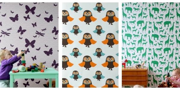 Designer Wallpaper for Kids Stylish and Fun 600x303