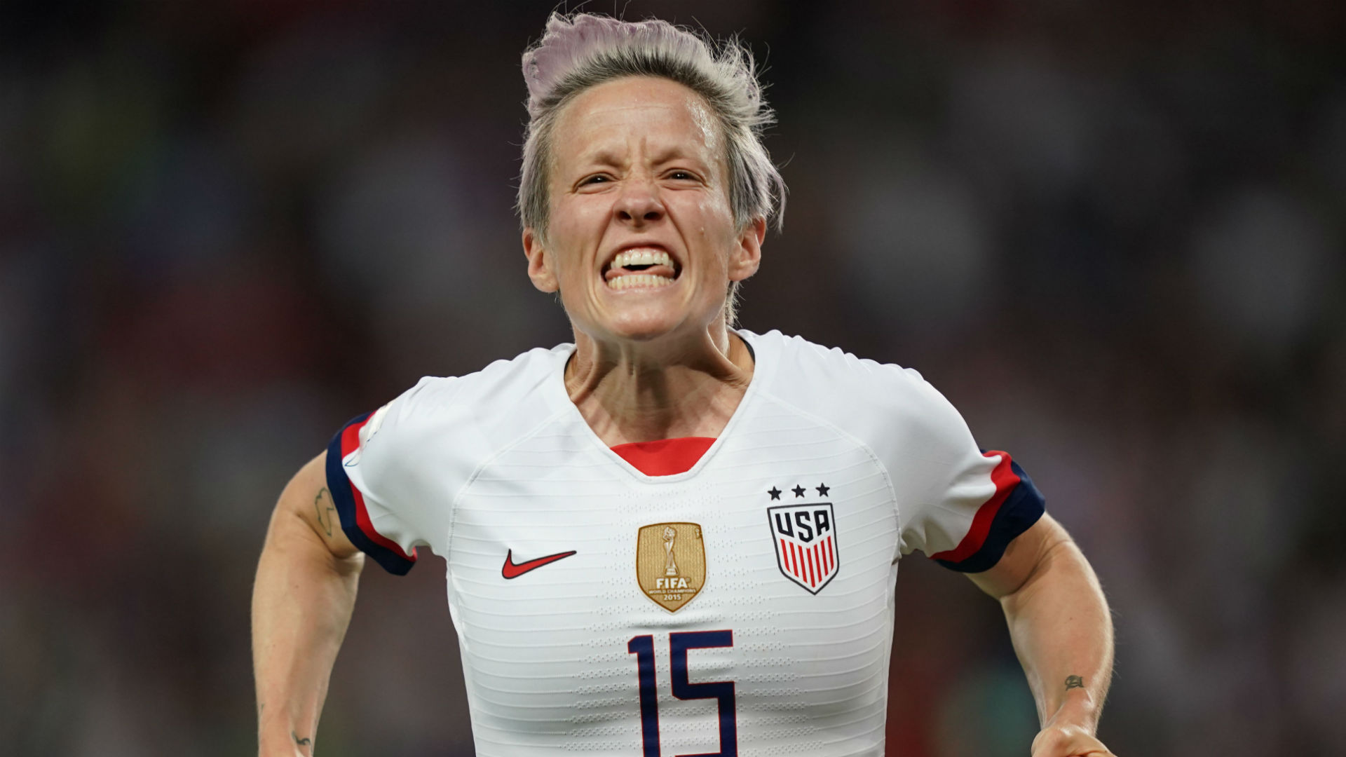 France 1 2 USWNT With firestorm around her Rapinoe delivers on 1920x1080