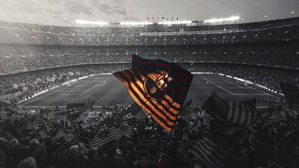 Desktop Wallpaper FC Barcelona by enihal 1024x576