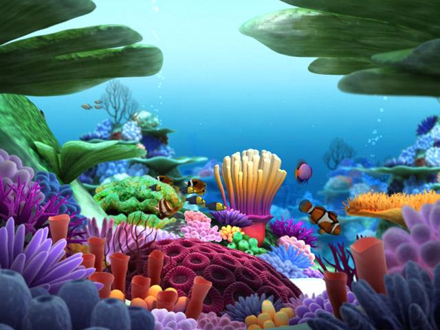 3D Screensaver Marine Aquarium Crawler 3D Screensaver Marine 640x480