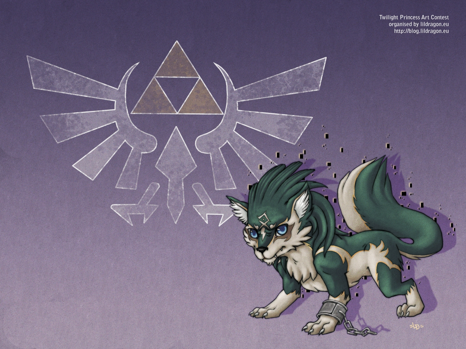 Wolf Link Twilight Princess Wallpaper Wolf link wallpaper 1600x1200