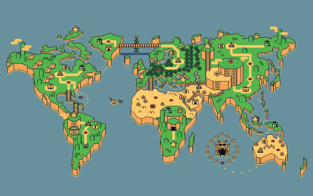 World map hd wallpaper wallpapersafari super mario world map nashville hd wallpaper hot wallpapers hd 1024x640 gumiabroncs Gallery