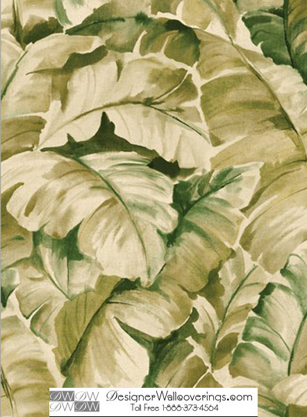 Titos Tropical Banana Leaf Wall Paper [WAT 39935] Designer 442x600