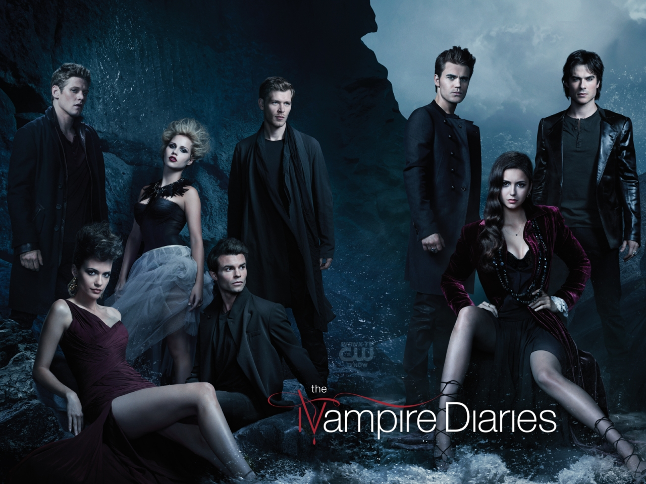 Vampire Diaries Cast W...