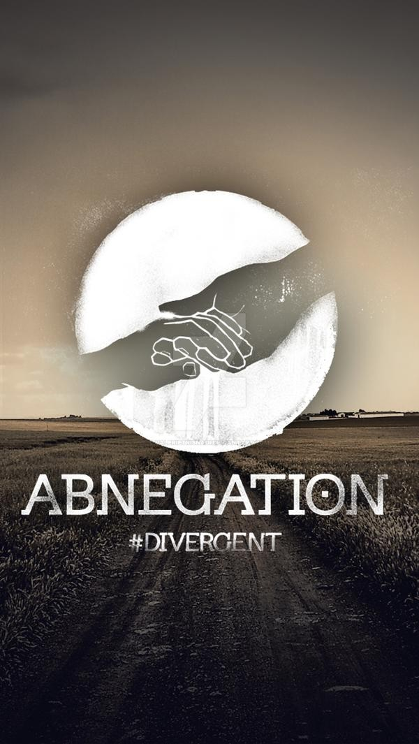 Divergent Factions iPhone 5 Wallpapers  ABNEGATION by 600x1065