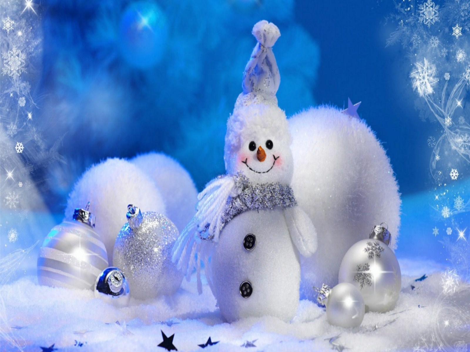 Wallpaper Cute Christmas Wallpapers Best Santa Waiting 1600x1200
