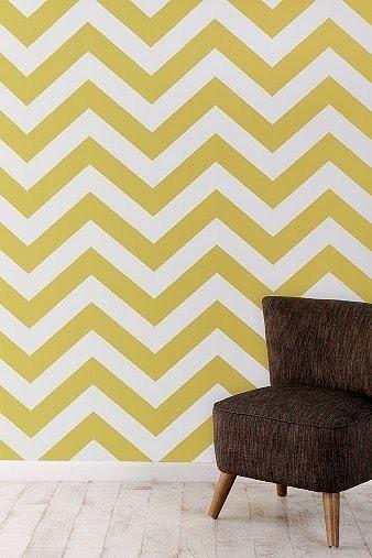 Tempaper Zee Removable Wallpaper Honey Wheat contemporary wallpaper 338x507