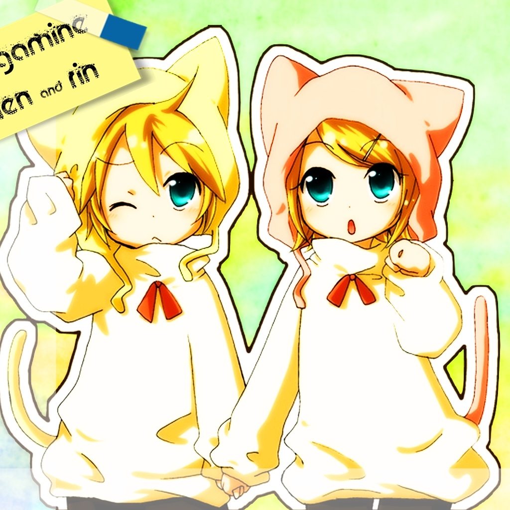 Cute99~ images Rin and Len HD wallpaper and background photos ...