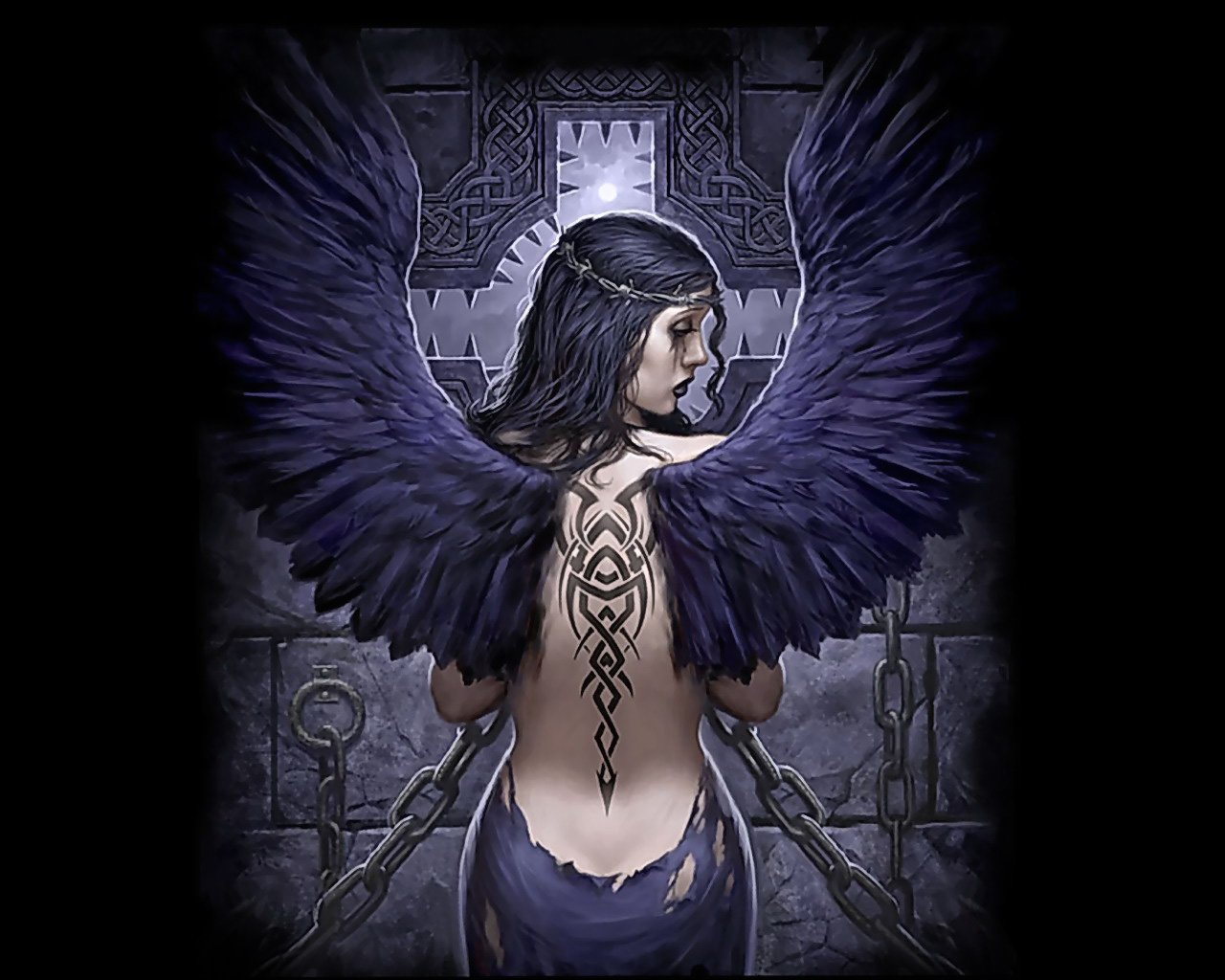 fallen angel wallpaper   ForWallpapercom 1280x1024