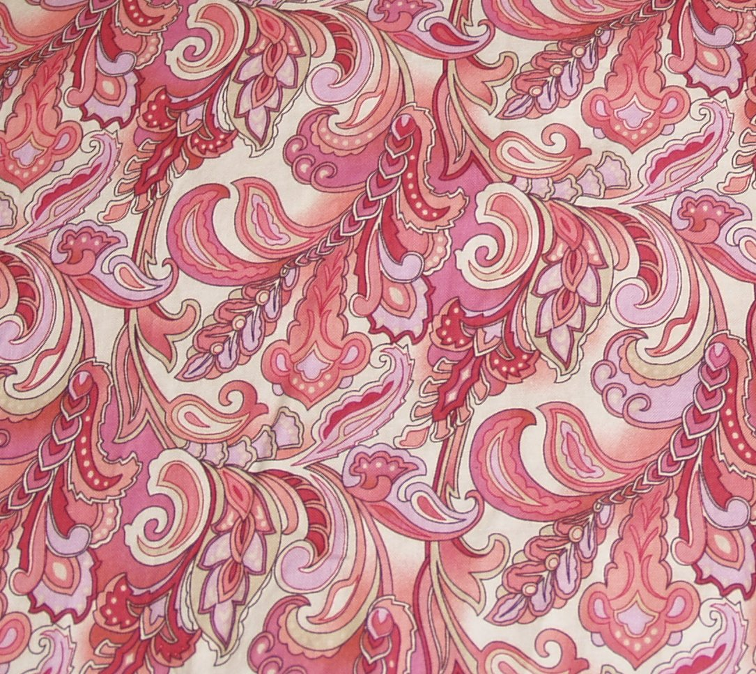 Red Paisley Wallpaper Wallpapersafari