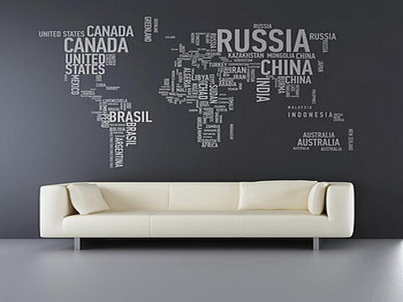 Map wallpaper for home walls wallpapersafari home design and interior design gallery of stylish world map wallpaper 800x600 gumiabroncs Image collections