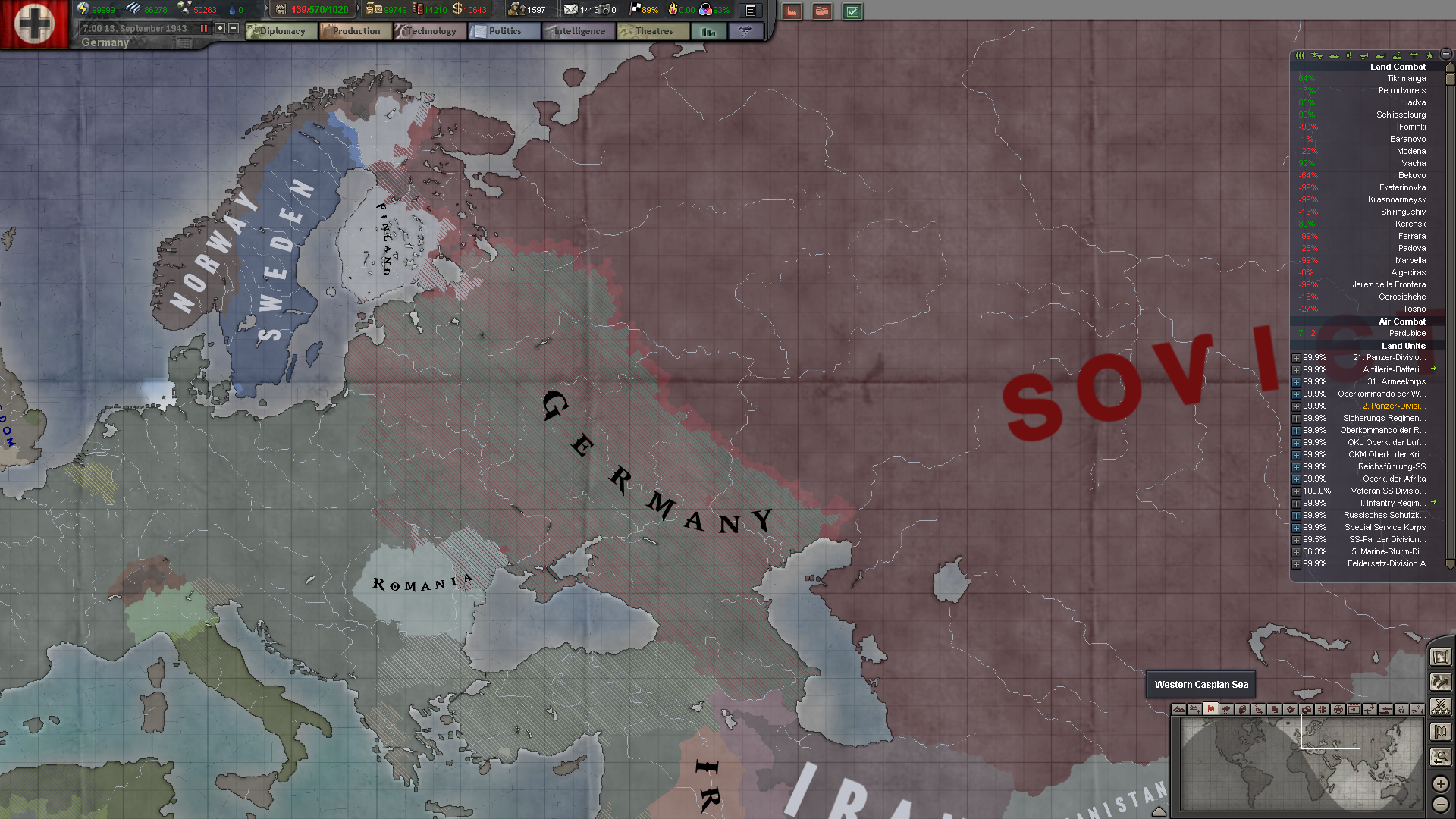 Hearts of Iron 3 Black ICE   Allies Commies DPing Germany 1920x1080