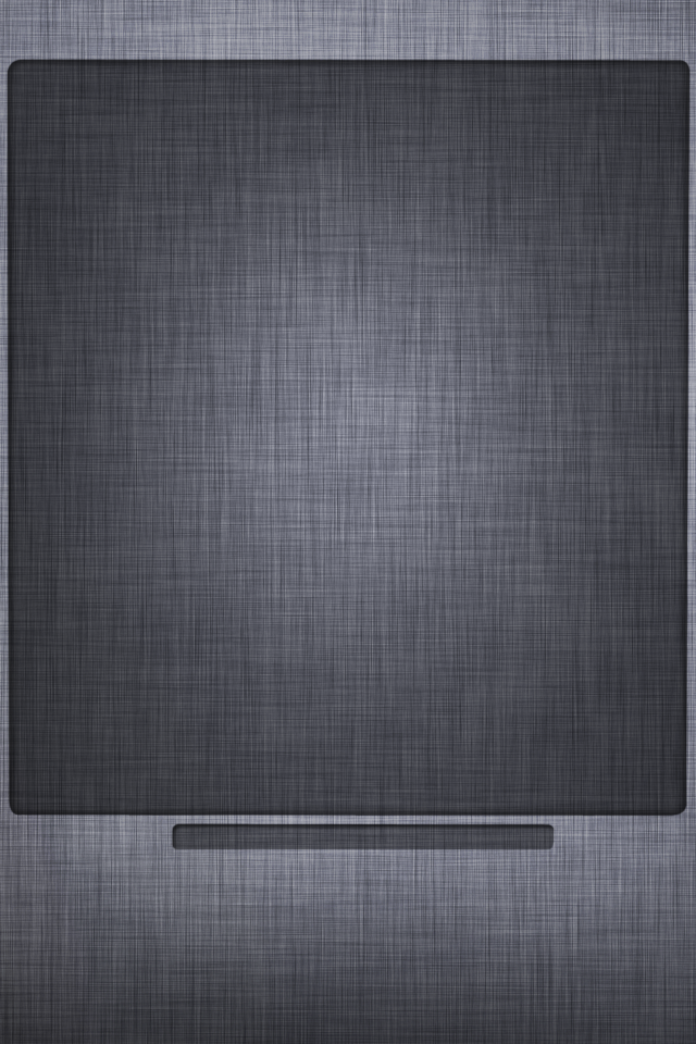 iPhone 5 Home Screen Gray Apple Texture Background 2 640x960