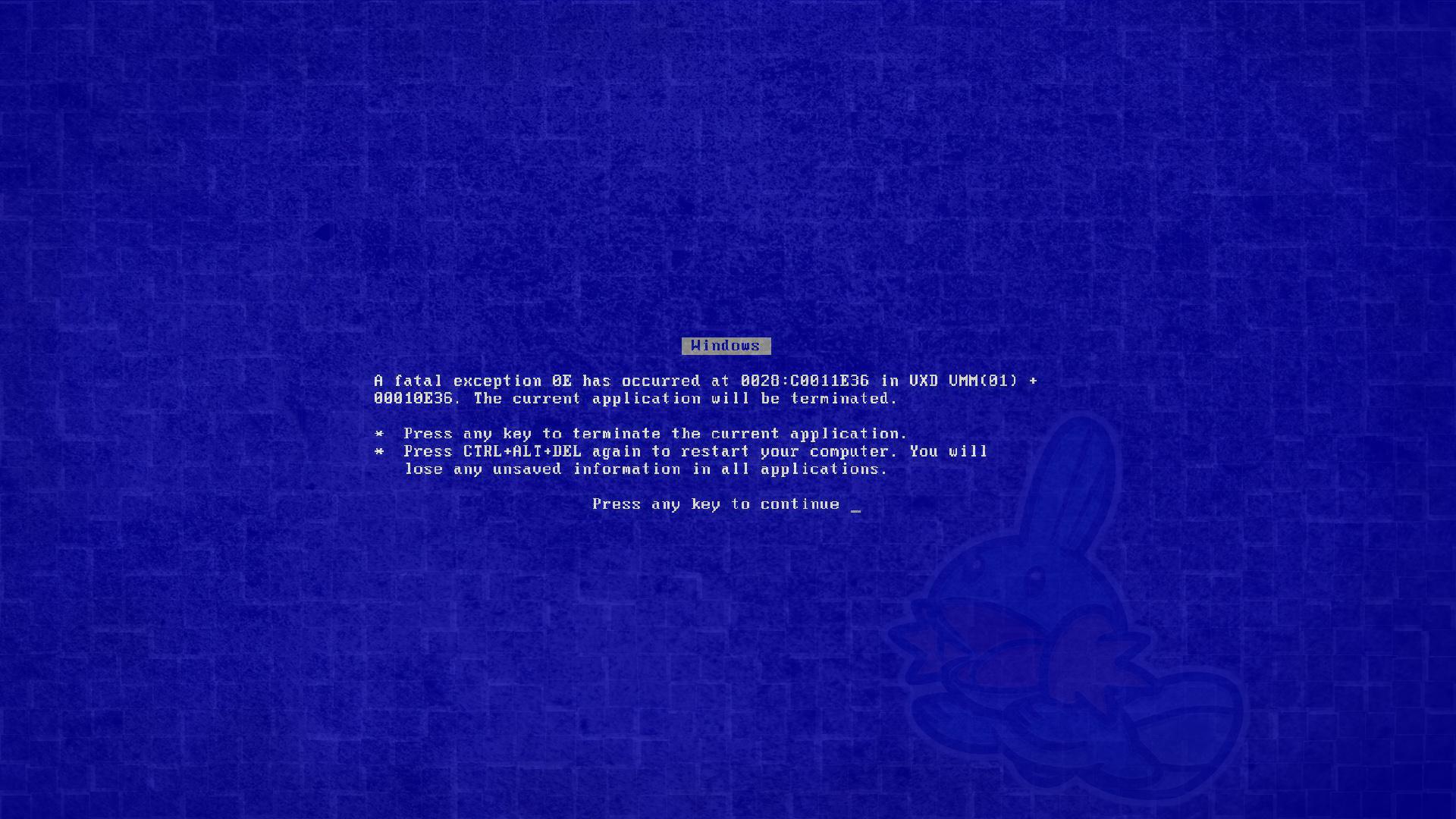 Blue Screen Wallpaper 1920x1080 Blue Screen Of Death 1920x1080