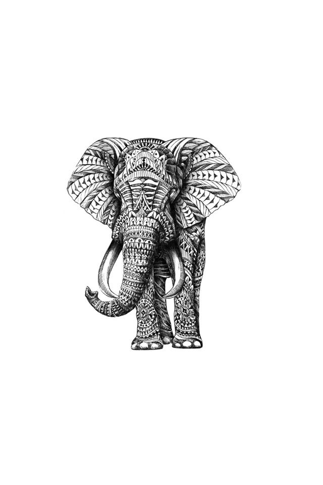 Tribal Elephant Wallpaper Wallpapersafari