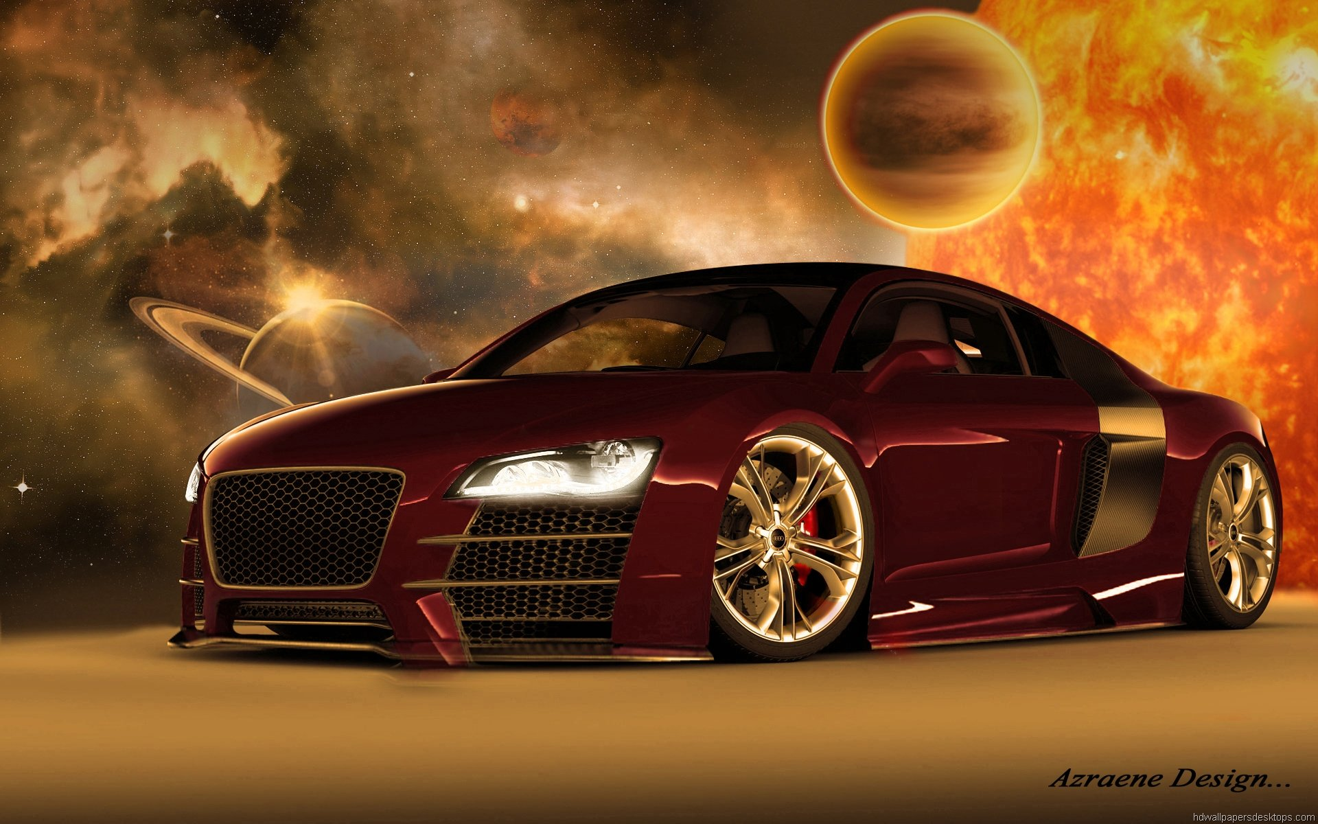 Cool 3D Desktop Cars Wallpapers 1920x1200