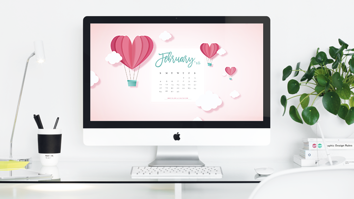 February 2018 Wallpaper Calendar FREE Download 721x405