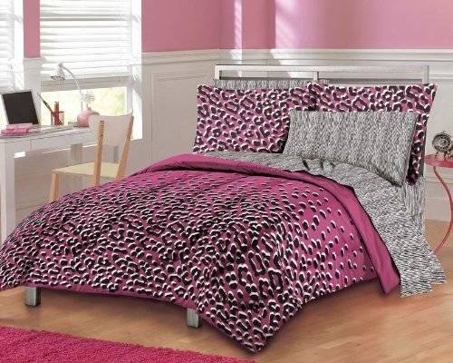 pink cheetah print bedroom set Home Designs Wallpapers 500x400