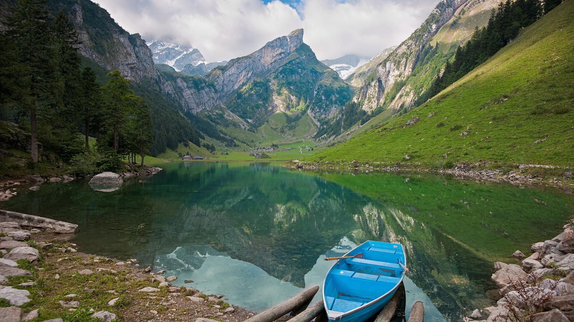 mountain lake wallpaper 1920x1080 - photo #17