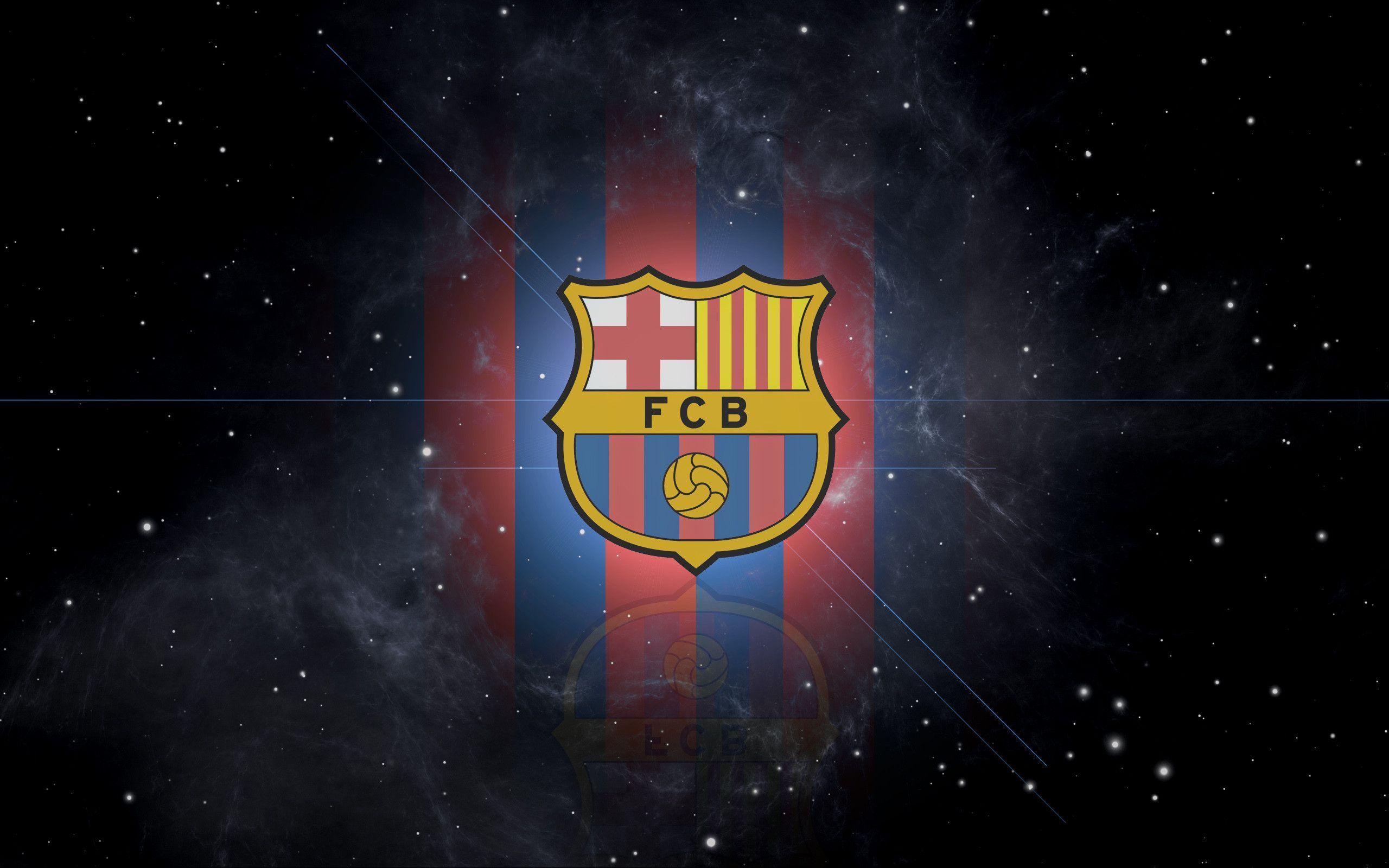 FC Barcelona Logo Wallpapers 2560x1600