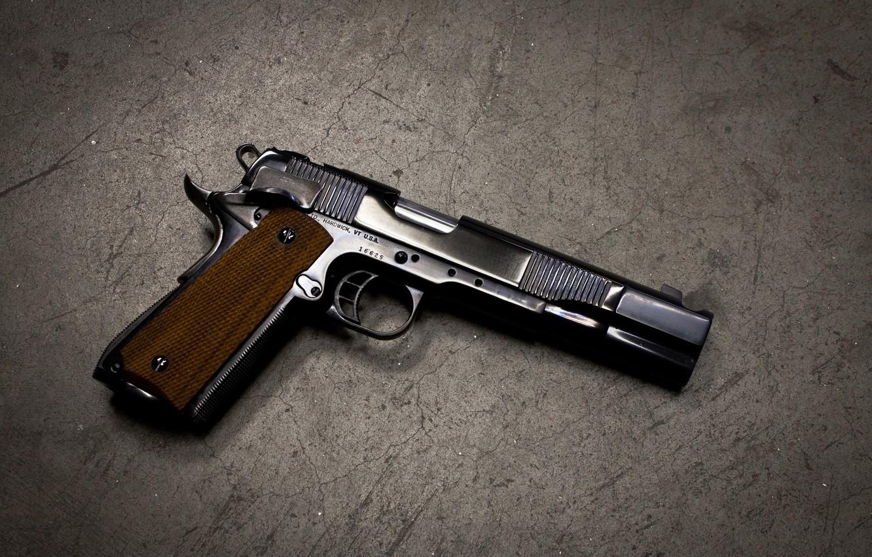 Wallpaper gun background colt m1911 self loading images for 1332x850