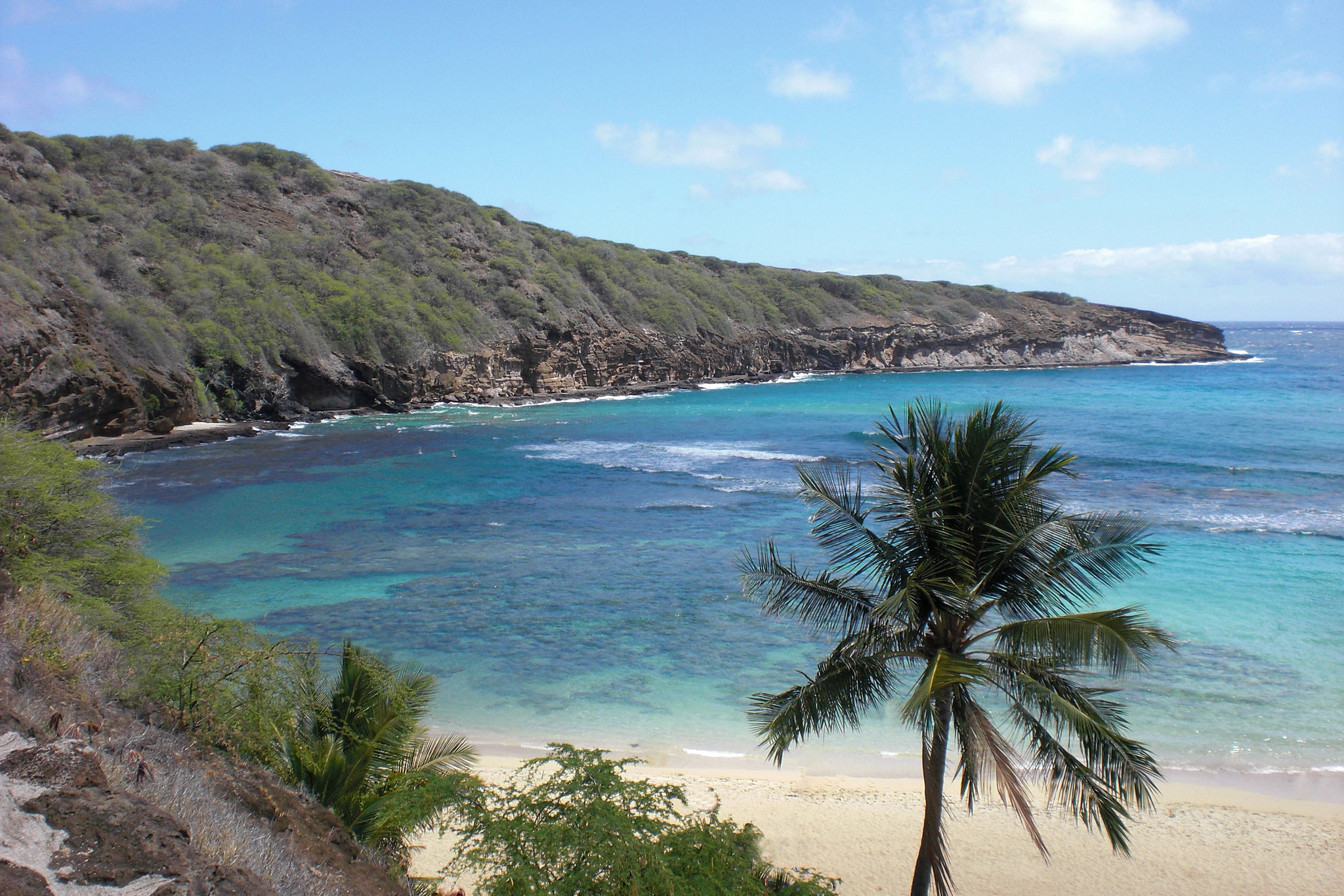 image Hanauma Bay Oahu Hawaii 1920x1080p HD Travel Wallpaper 2048x1365