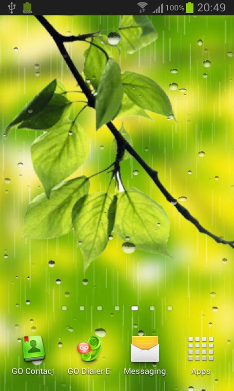 Rain PRO live wallpaper   Android Apps on Google Play 480x800