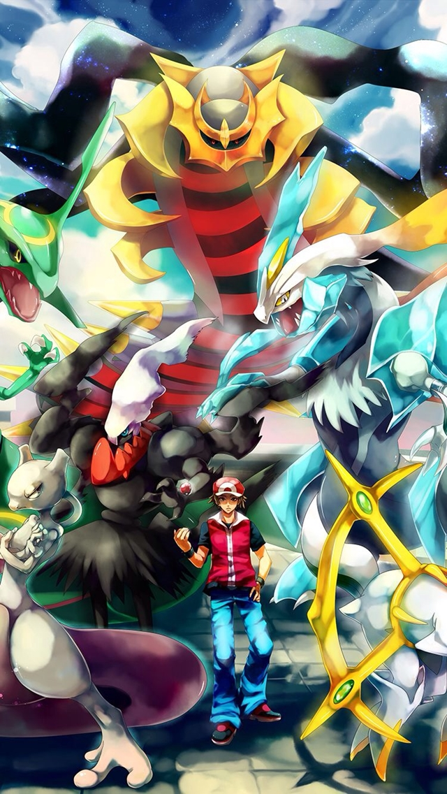Hd Wallpapers   Pokemon Wallpaper Legendary Android 1551491 640x1136