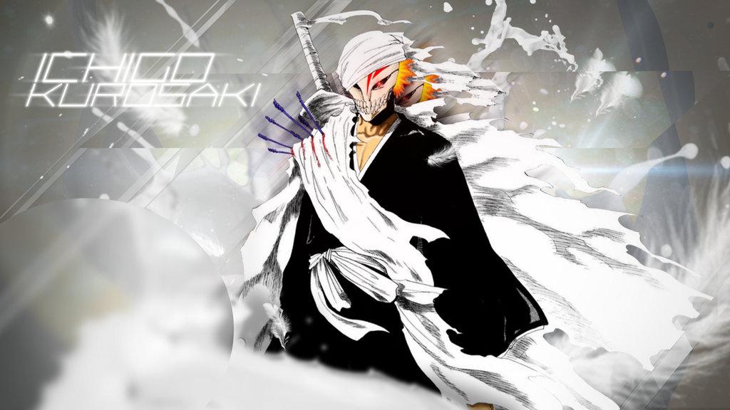 Wallpaper Hollow Ichigo by spartansniper619 1024x576