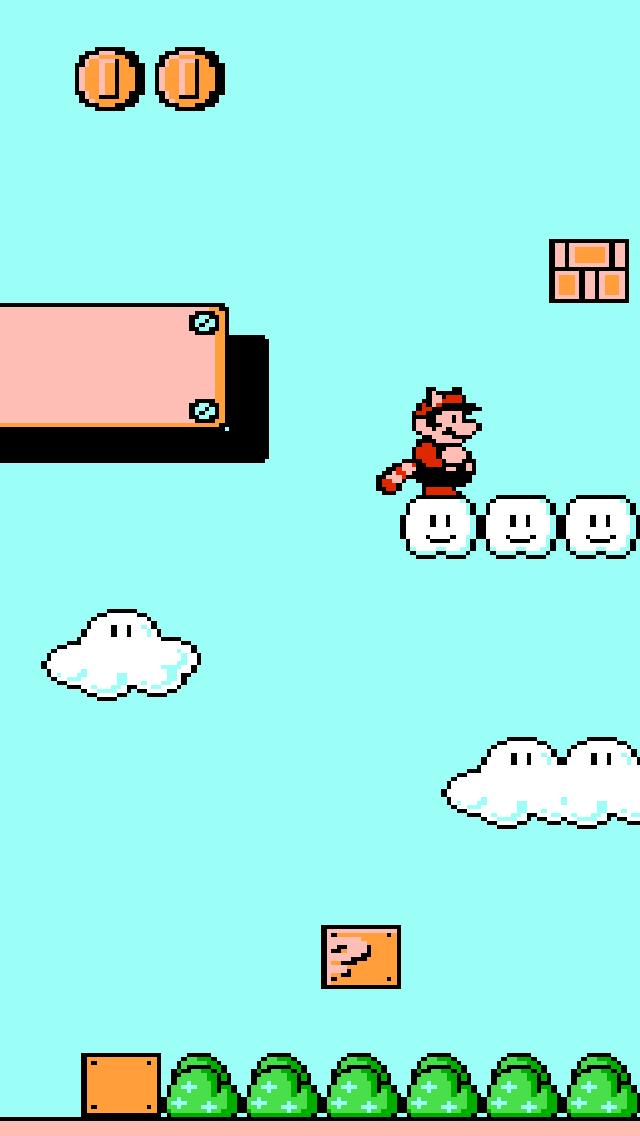 Nes Mario Wallpaper Super mario bros 3 iphone 5 640x1136