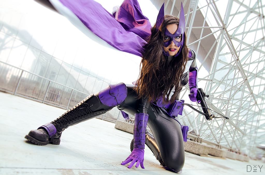The Huntress DC COMICS by Gixye 1024x678