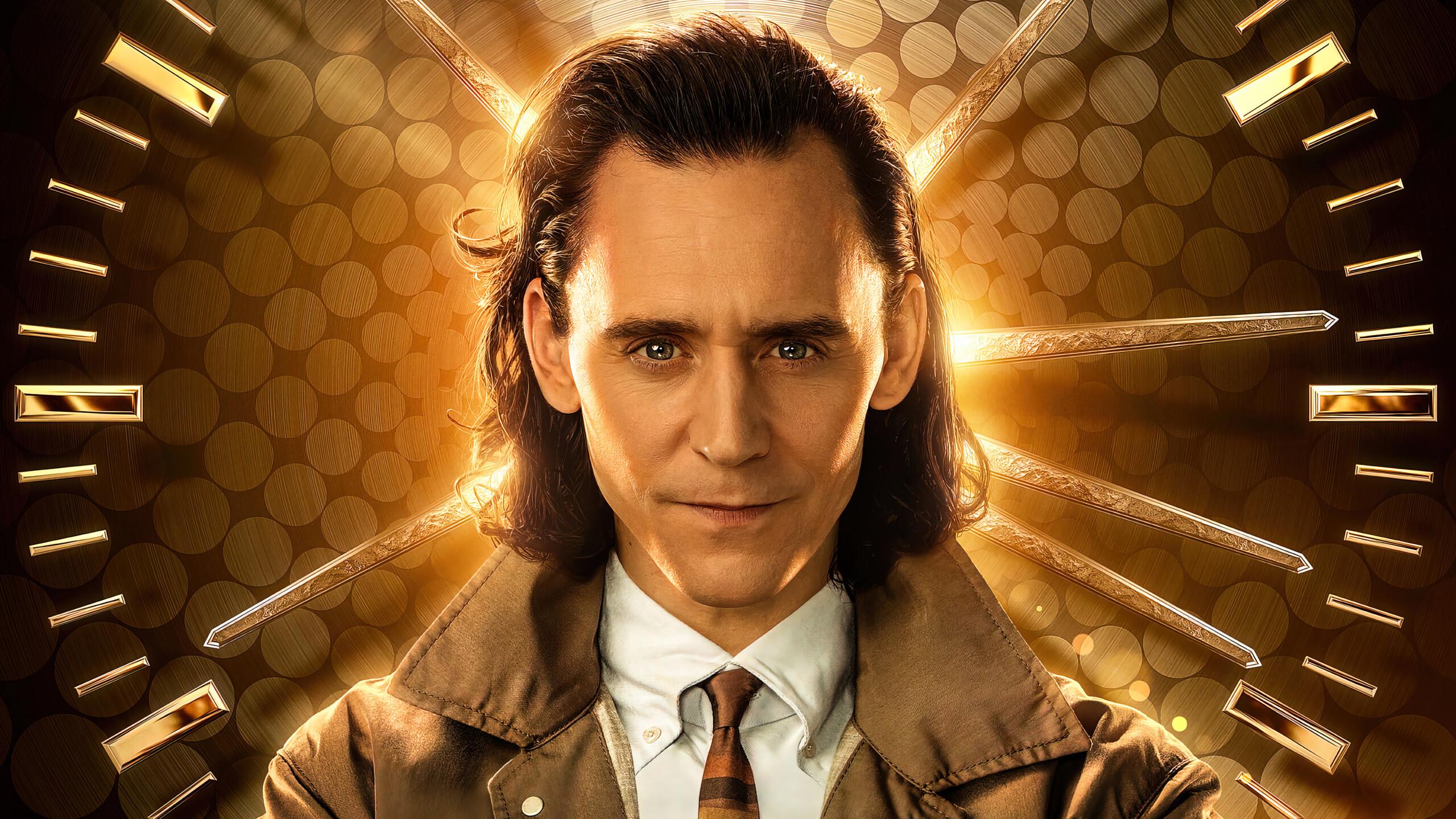 Loki TV Series Tom Hiddleston 4K Phone iPhone Wallpaper 7980a 2560x1440