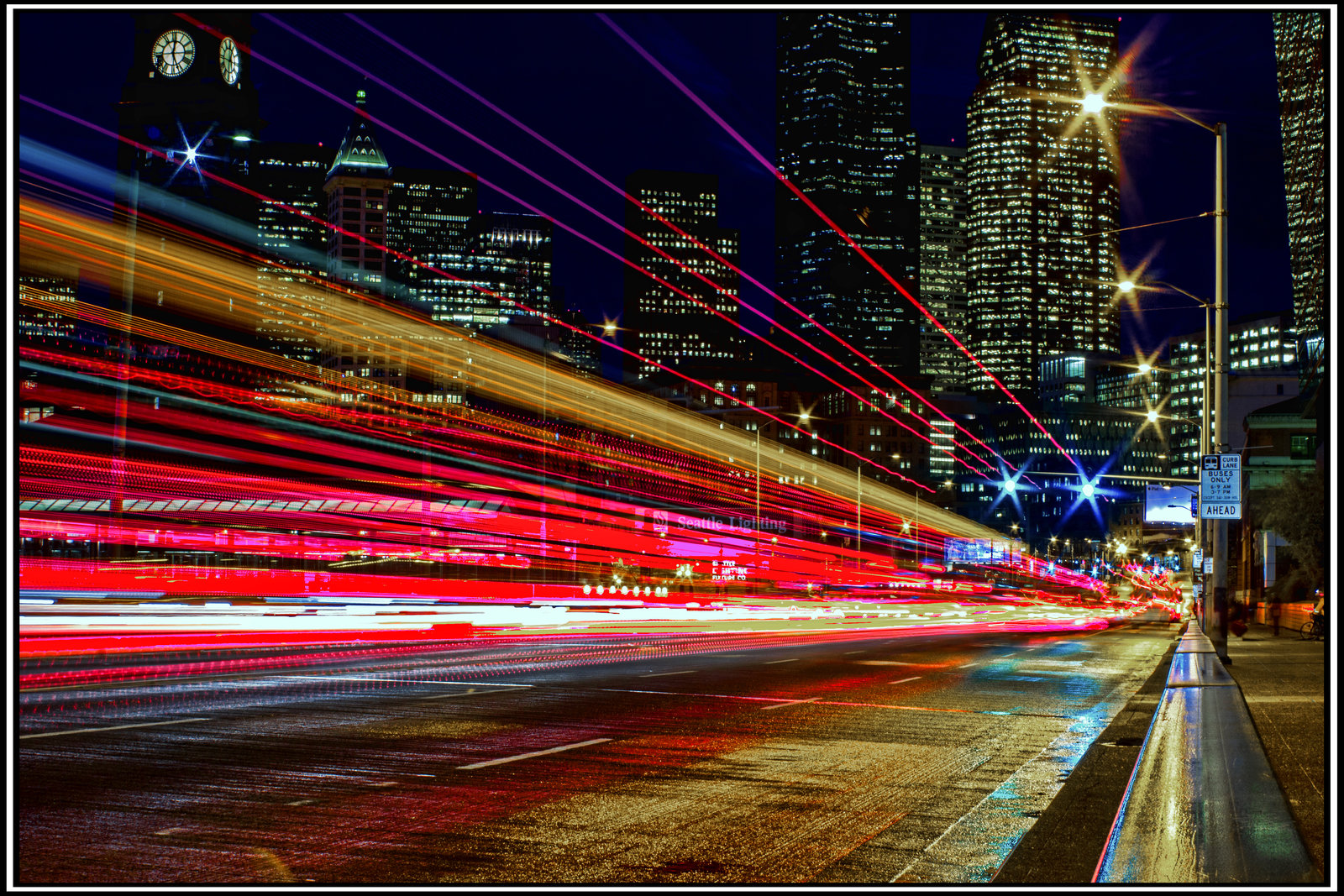 city lights in seattle by mackingster photography urban rural city 1600x1067