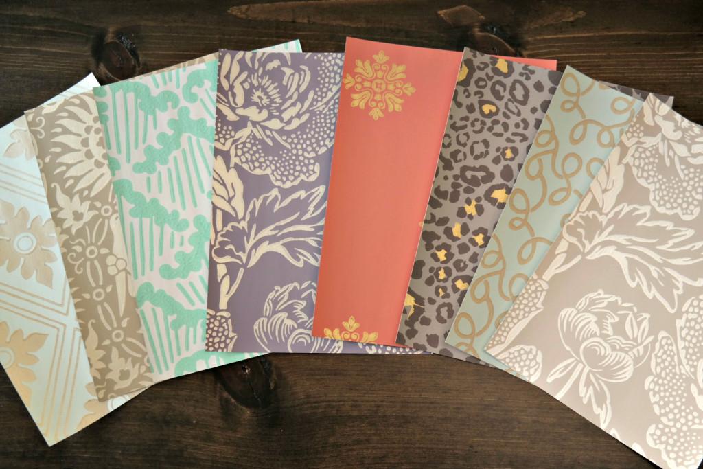 Wallpaper Samples for DIY Business Card Holders 1024x683