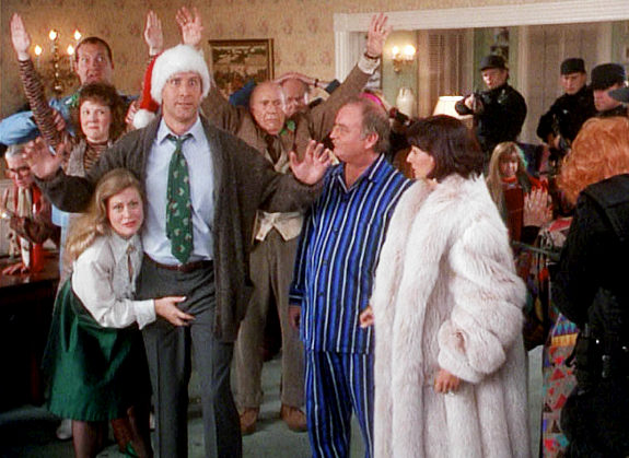 had to watch national lampoon s christmas vacation while this movie 575x419