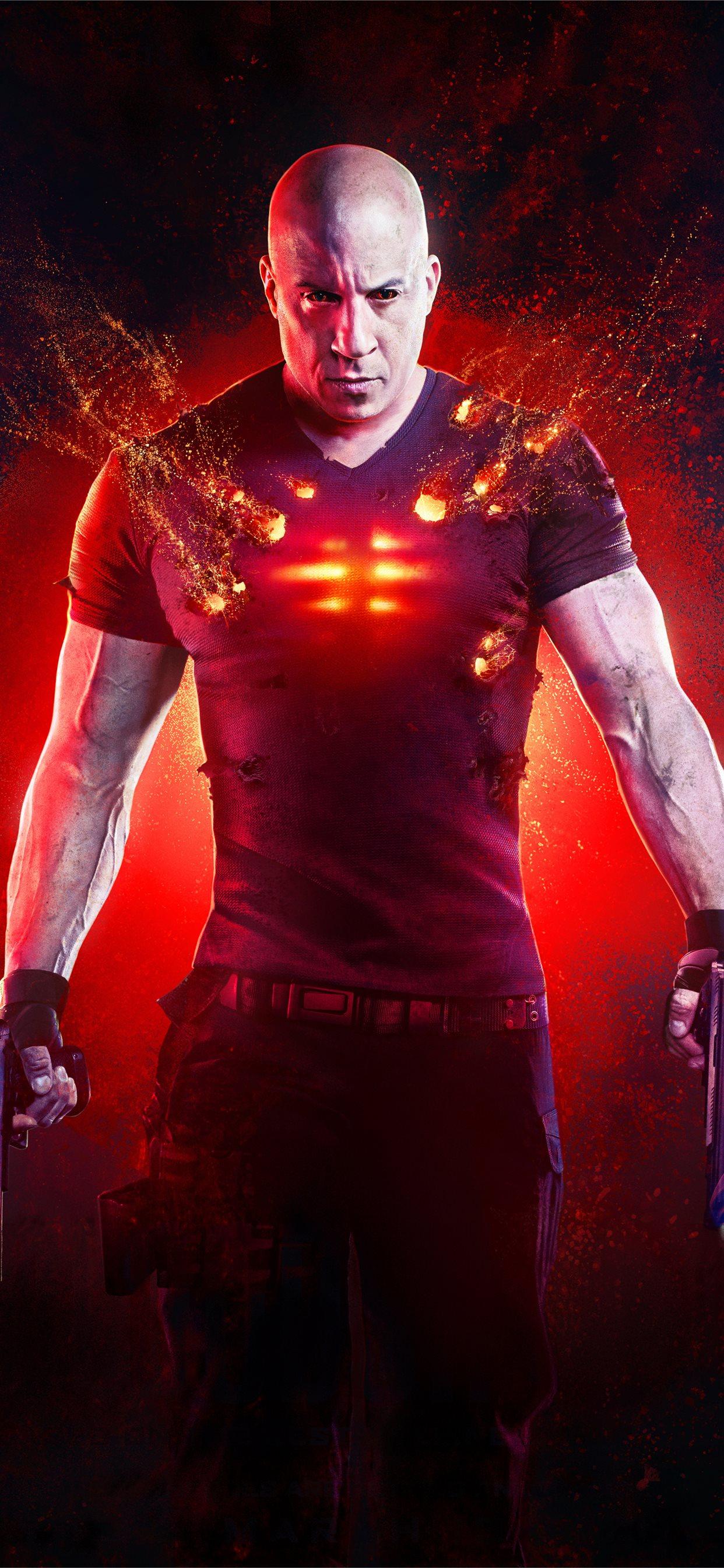 bloodshot movie 2020 5k vin diesel iPhone Wallpapers Download 1242x2688