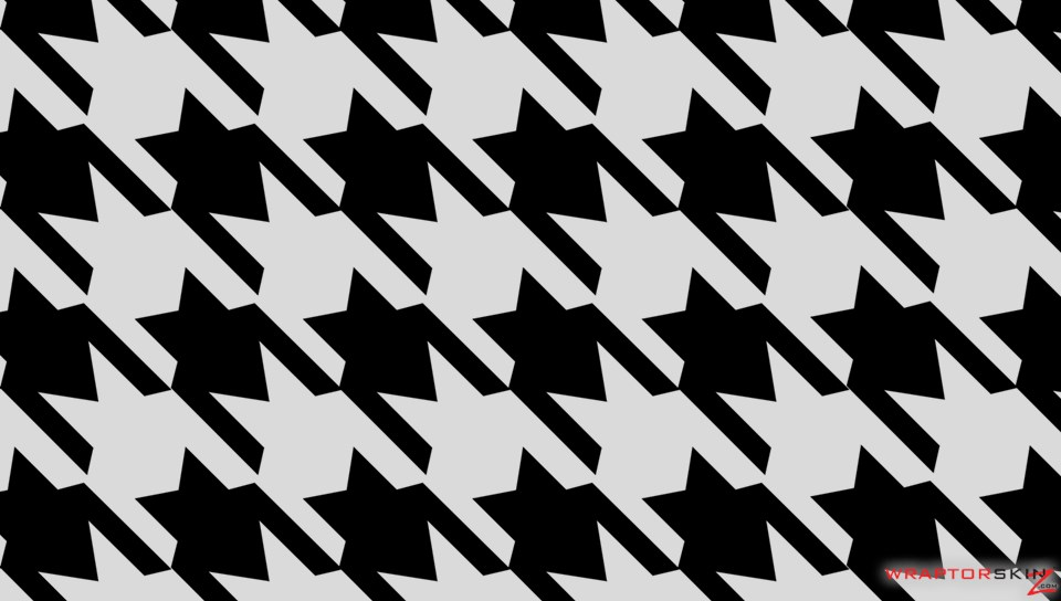 black and white houndstooth wallpaper
