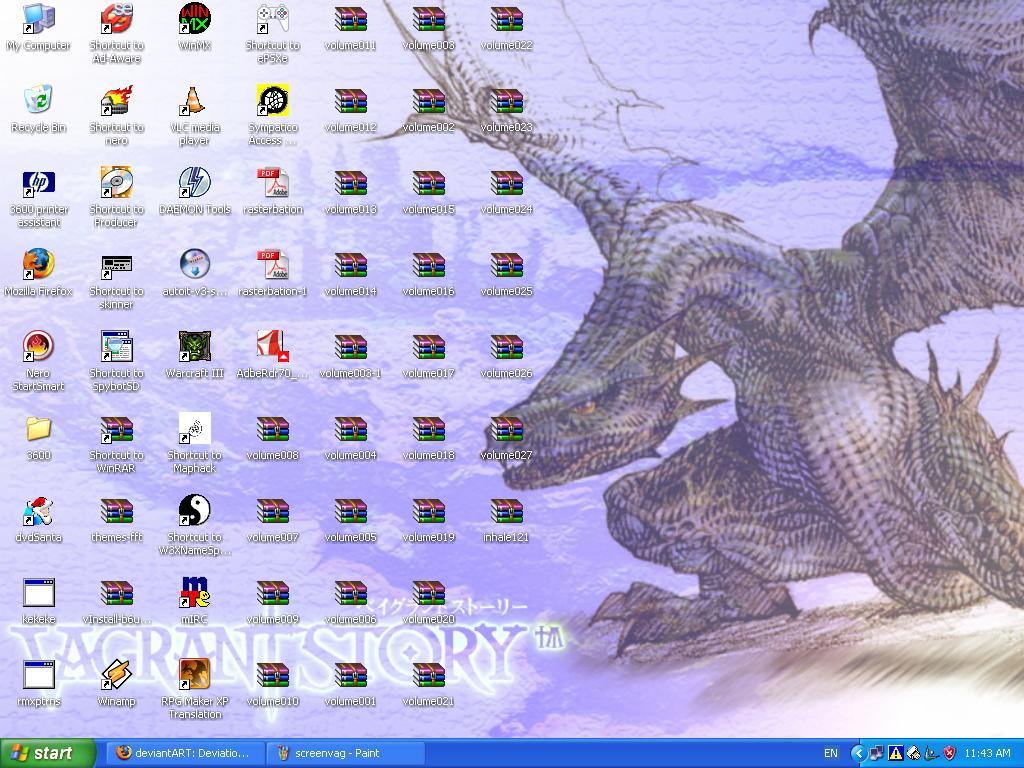 Vagrant Story Wyvern Desktop by Seraphant on deviantART 1024x768