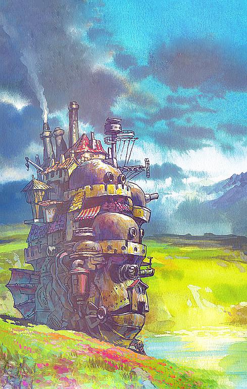 Studio Ghibli Scenery IPhone Backgrounds