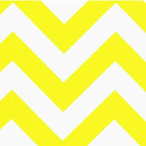 Yellow Chevron Something Different Linen 500x500