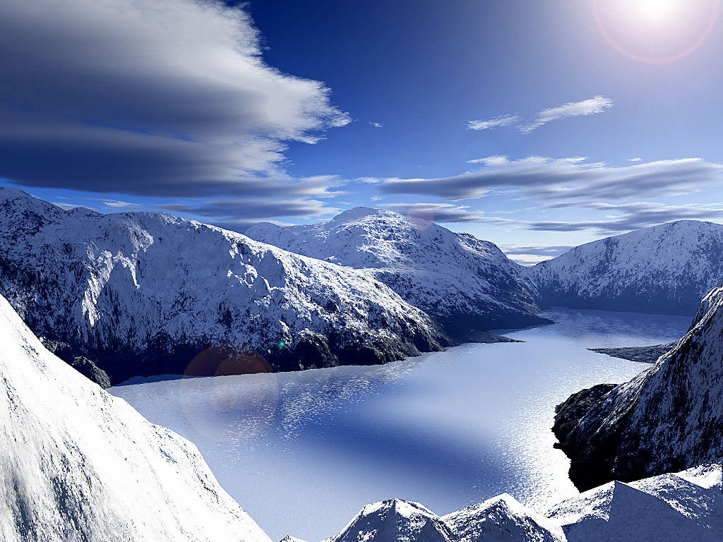 Snow Mountain Wallpaper 8373 Hd Wallpapers in Nature   Imagescicom 1024x768