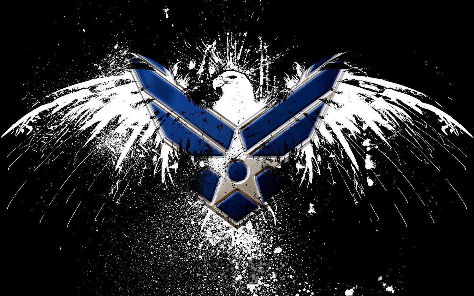 Air Force Logo HD Wallpaper Slwallpapers 1600x1000
