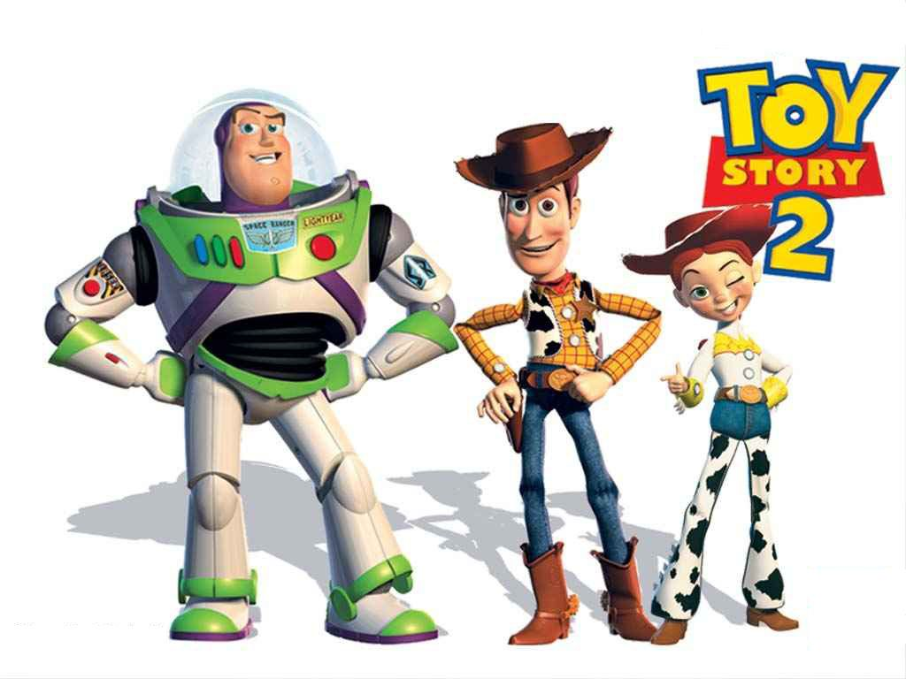 Free Download Buzz Woody And Jessie Toy Story 2 Wallpaper