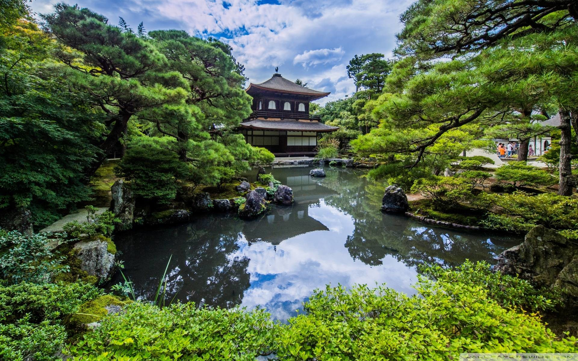 66 Japanese Gardens Wallpapers on WallpaperPlay 1920x1200