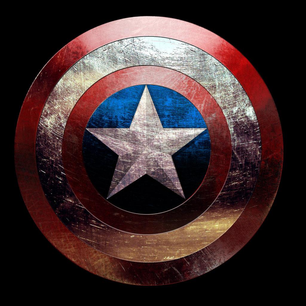 Captain America Shield HD Desktop Wallpapers Attachment 4315   HD 1024x1022