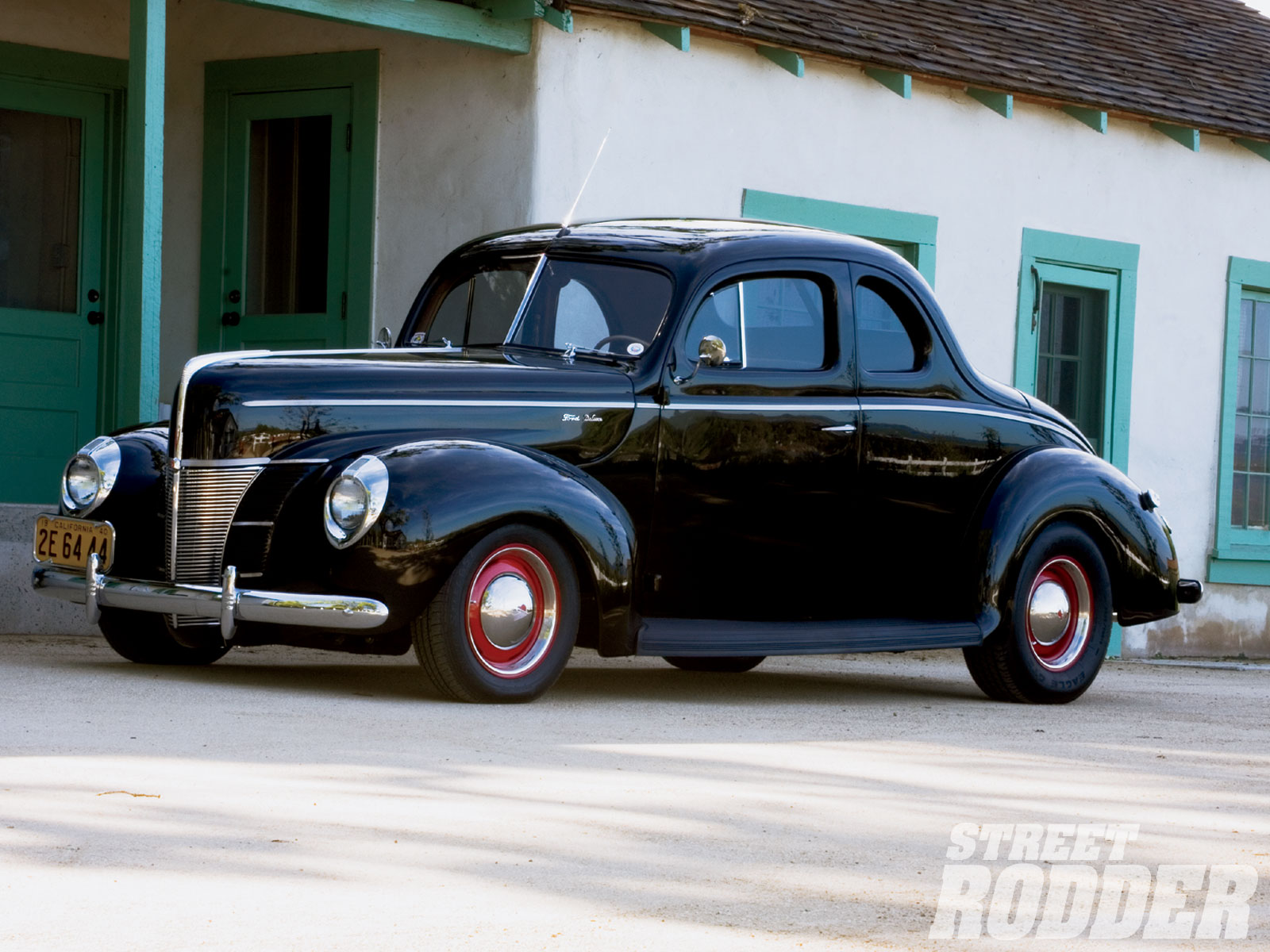 1940 Ford DeLuxe Coupe   Interstate 40 Photo Gallery 1600x1200
