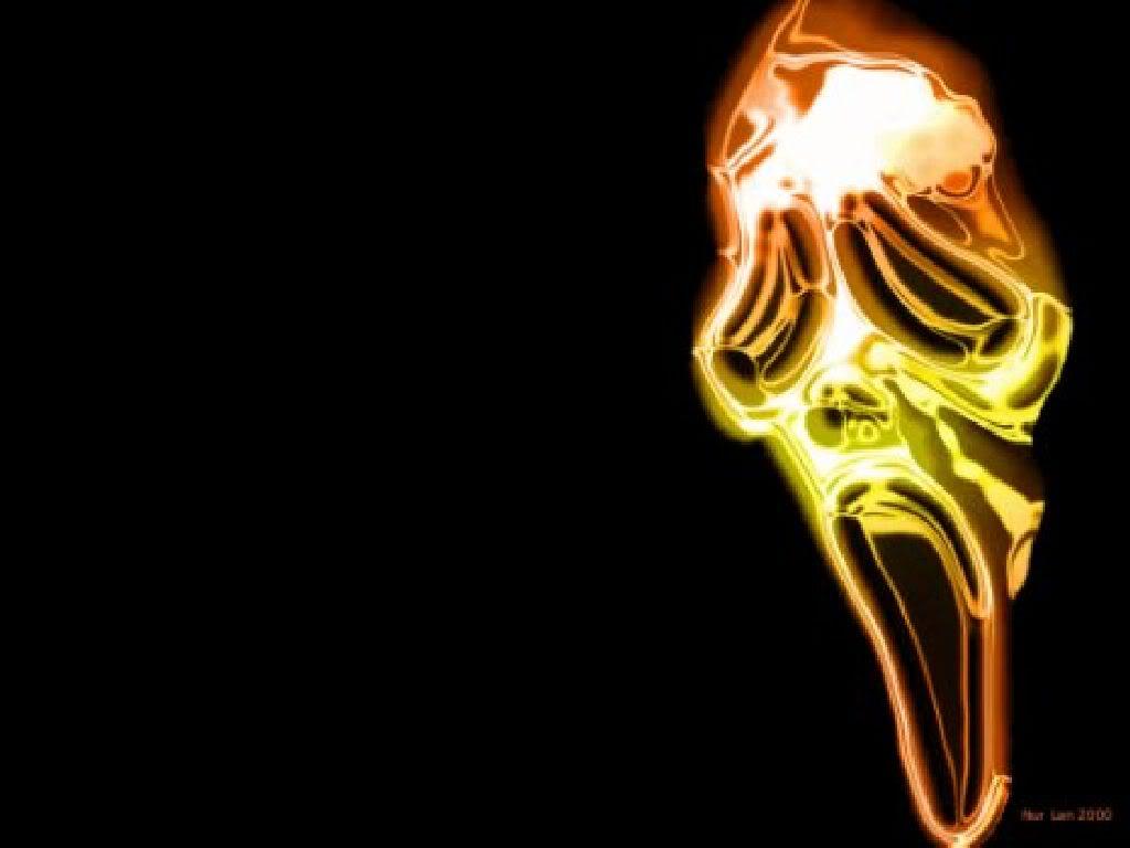 Free Download Scream Mask Wallpaper Background Theme Desktop