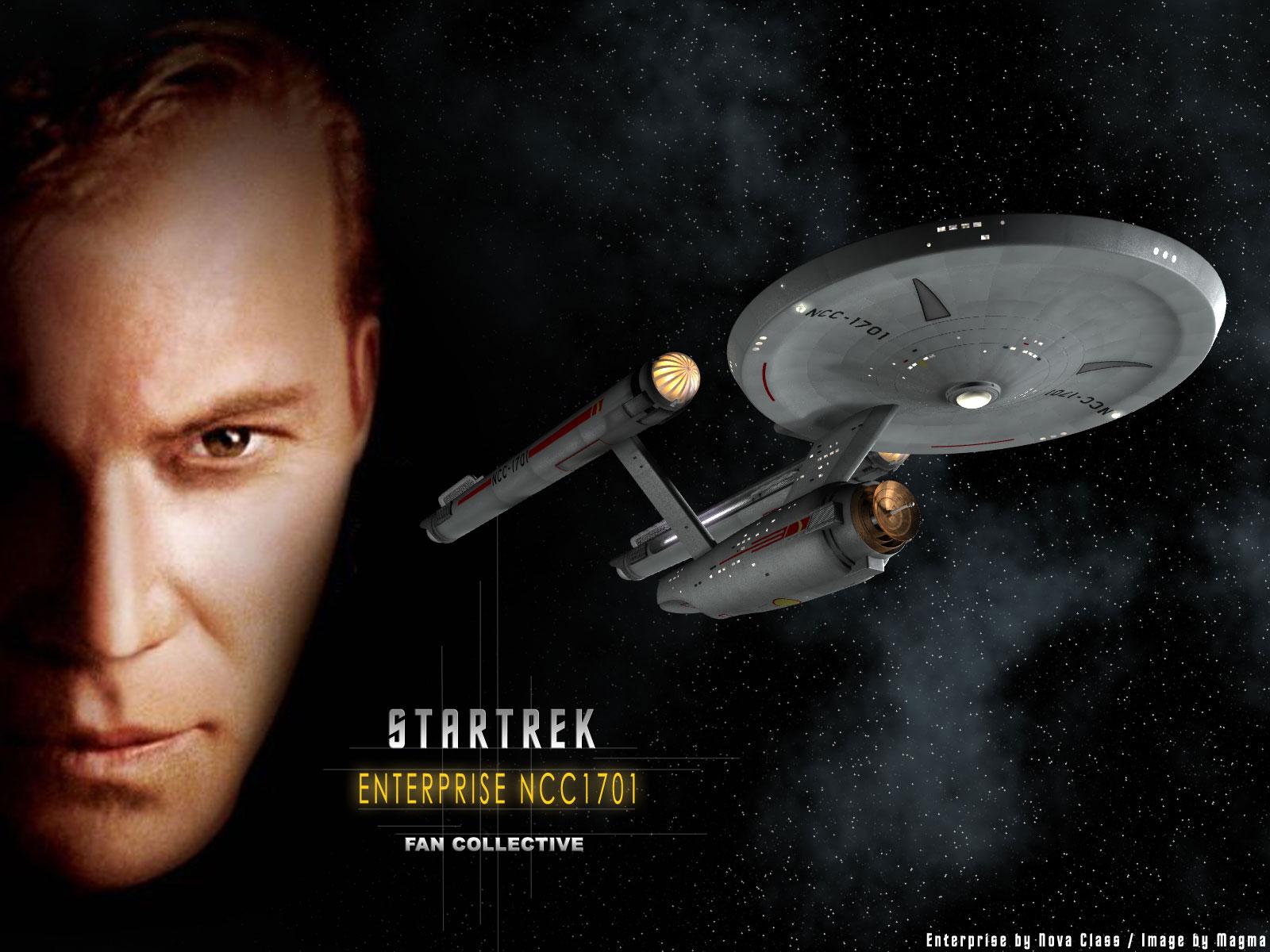 Trek Enterprise NCC1701   Star Trek computer desktop wallpaper 1600x1200