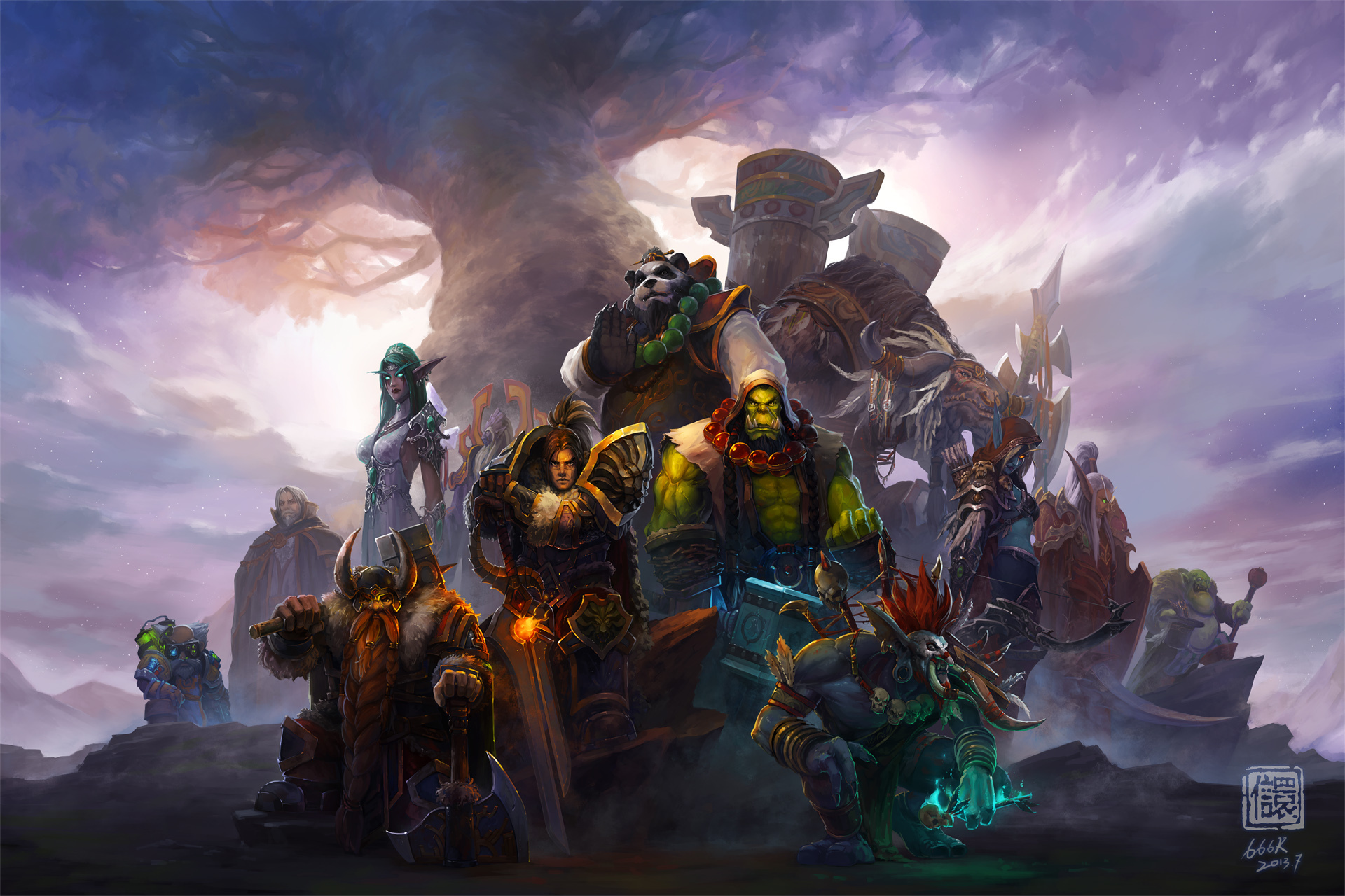 Wow Orc Warrior Wallpaper Images amp Pictures   Becuo 1920x1280